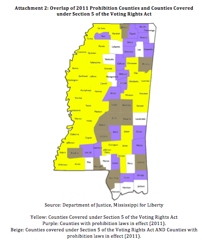 Mississippi Voting Progress Matters - Mississippi map of counties