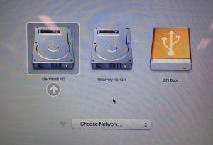Boot Menu OS X